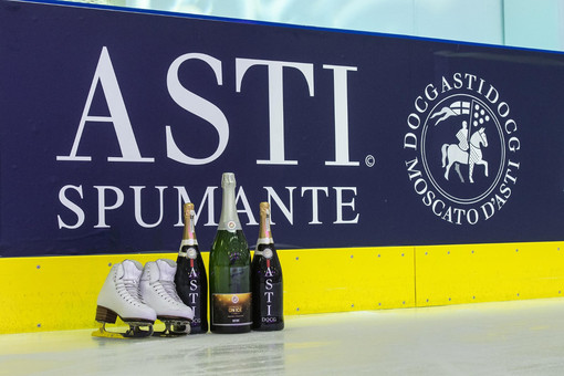 Il Consorzio dell'Asti partner dei Golden Skate Awards - San Valentino on Ice