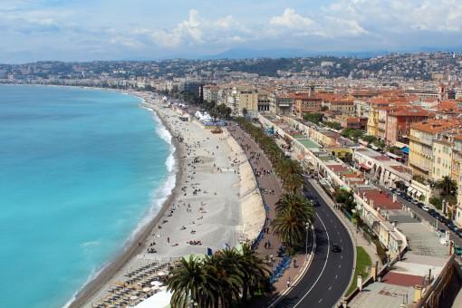 Il panorama di Nizza