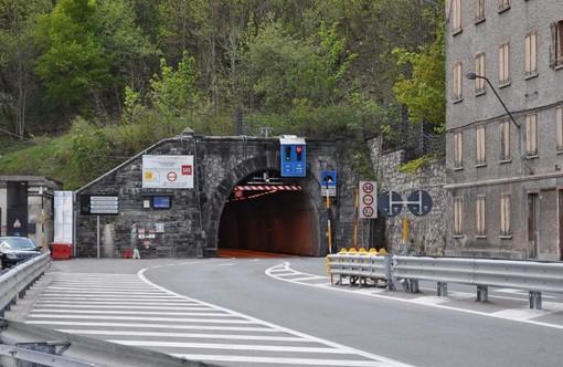 Viabilità Liguria-Piemonte: da martedì prossimo nove giorni di chiusura diurna della galleria del Tenda sulla Statale 20