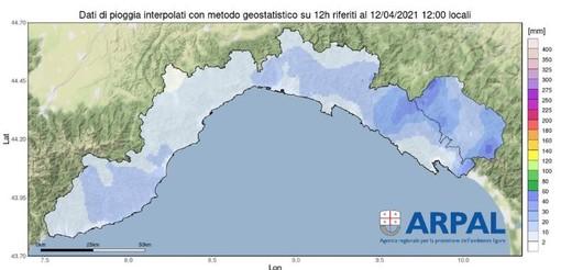 Maltempo: alle 13 passa in allerta gialla il Levante della Liguria, da questa sera forti raffiche di vento sulla nostra provincia