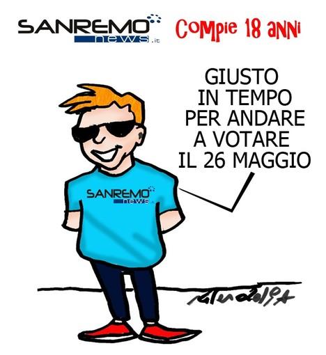 18 anni insieme: buon compleanno Sanremonews.it IL quotidiano della provincia, grazie a tutti i nostri lettori (ed anche un poco a noi!)