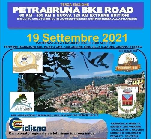 Ciclismo, torna domenica la terza edizione della Pietrabruna Bike Road