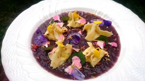La foto del piatto realizzato da Cristina Curri