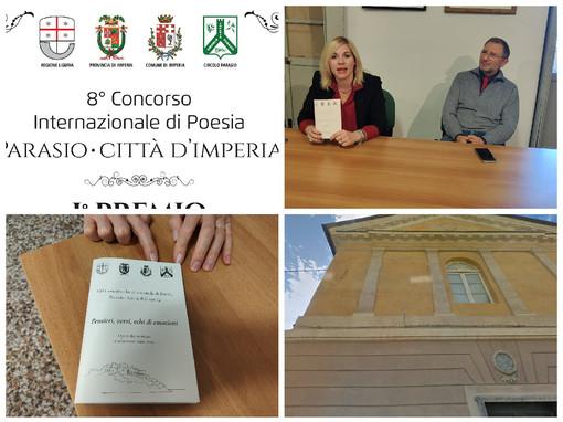 Imperia, sabato all'Oratorio di Santa Caterina a Porto la premiazione del Concorso internazionale di poesia Circolo Parasio (video)