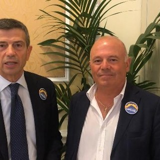 Da sinistra, Maurizio Lupi e Antonio Bissolotti