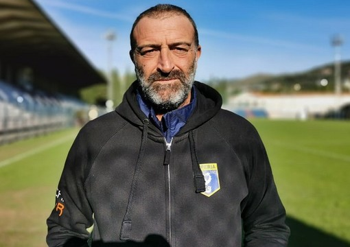 Il mister Alessandro Lupo