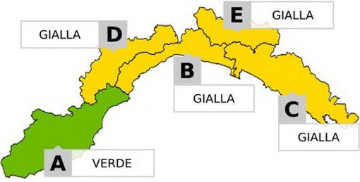 In arrivo una perturbazione sulla Liguria: esclusa la nostra provincia ma attenzione alle mareggiate