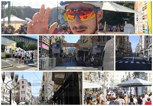 Partita la Milano-Sanremo: nella città dei fiori tantissimi turisti, al momento qualche coda ma la viabilità regge (Foto e Video)