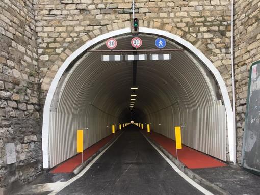 Imperia: scatta il limite dei 30 km orari in galleria Gastaldi, firmata l'ordinanza