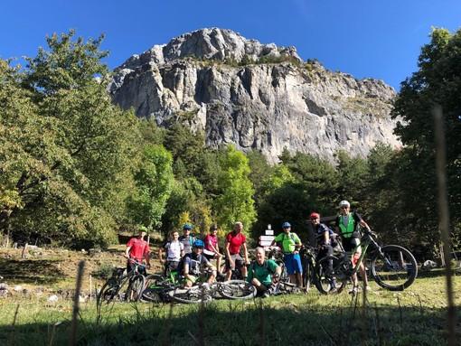Imperia: undici 'gemelli' di Friedrichshafen in città tra mountain bike, arrampicate e buon cibo (Foto)