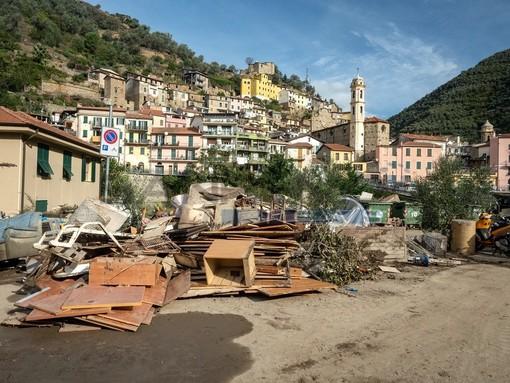 Alluvione a Badalucco: attivato conto corrente per l'emergenza, ecco come donare