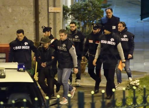 L'arresto di Enzo Agostino