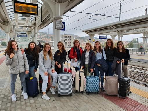 Imperia: delegazione di 8 alunne e 2 insegnanti del Liceo Vieusseux a Zagabria (foto)