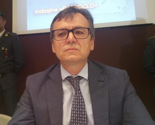 Il procuratore capo di Imperia Alberto Lari