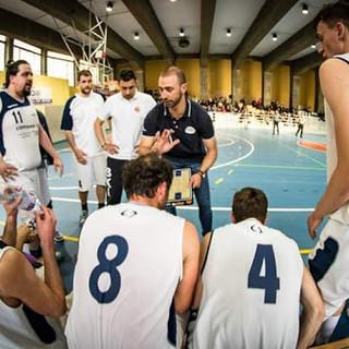 Danilo Pionetti, coach del BKI Imperia