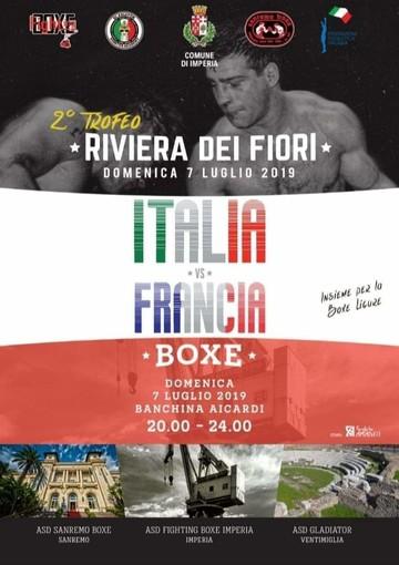 Imperia: domenica di grande boxe, in banchina Aicardi il derby Italia-Francia