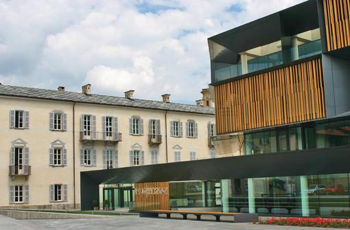 La sede della Banca di Caraglio