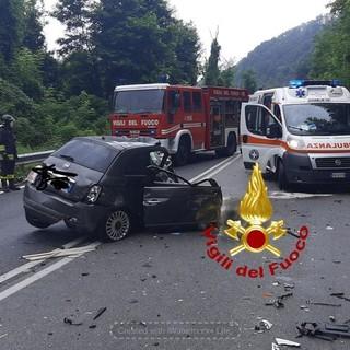 Incidente mortale sul Colle di Nava: schianto tra auto e camion, muore il 64enne alla guida della vettura