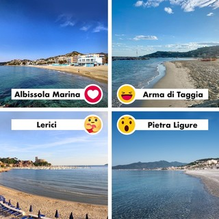 Un'estate a colpi di clic: sulla pagina Facebook di Regione Liguria il contest sui comuni 'Bandiera blu' e 'Arancione'