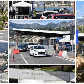 """Ordinanza del Ministero: al confine Italia-Francia si continua a transitare, Parodi """"Situazione confusa"""" (Foto e Video)"""