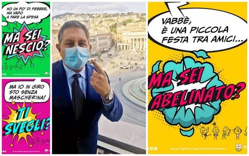 """""""Ma sei abelinato?"""": scatta la campagna di sensibilizzazione della Regione per il Coronavirus"""