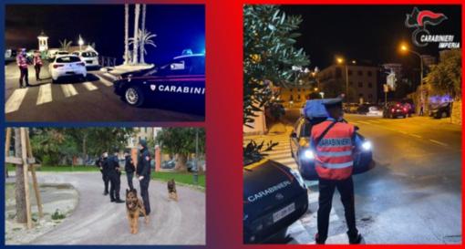 Luglio da record per i Carabinieri della provincia di Imperia: 25 arrestati e 107 persone denunciate