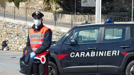 Emergenza Coronavirus: continuano senza sosta i controlli dei Carabinieri del Comando Stazione di Diano Marina (Foto)