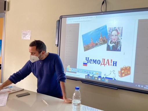 Imperia: sono iniziati questa mattina i corsi di russo per gli studenti dell'Istituto 'Ruffini' (Foto)