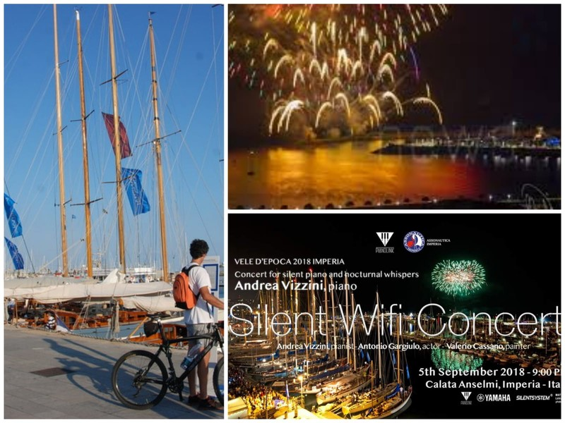 Arriva a Imperia il Silent Wifi Concert, moda del momento pronta a sbarcare alle Vele d'Epoca