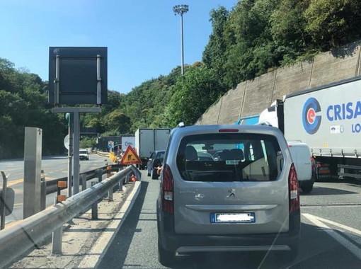 """Ancora code sulle autostrade verso la Ligura: Toti """"La nostra regione non può essere abbandonata!"""""""