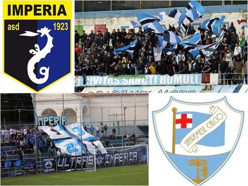 Calcio: è la vigilia di Imperia-Sanremese, dopo 13 anni torna il derby in Serie D ma con gli spalti vuoti non sarà la stessa cosa