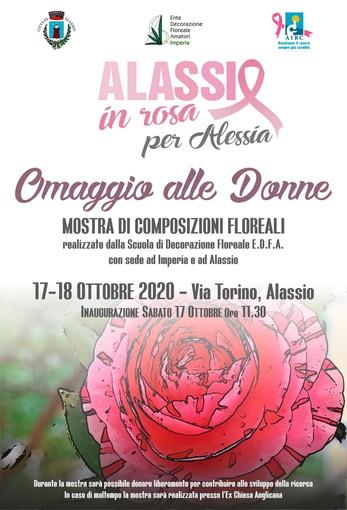 'Omaggio alle Donne', ad Alassio una mostra di composizioni floreali realizzate dalla Scuola di Decorazione Floreale EDFA di Imperia e Alassio