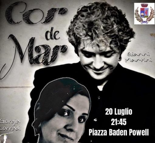 Santo Stefano al Mare: stasera in piazza Baden Powell l'omaggio a Mina con i 'Cor de Mar'