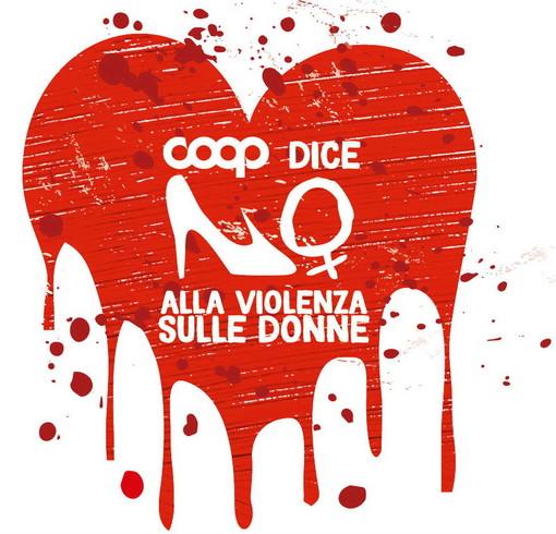 Le iniziative di Coop Liguria per la Giornata contro la violenza sulle donne di lunedì prossimo