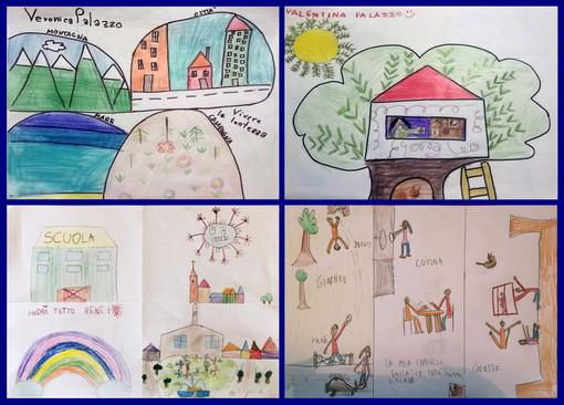 Dolcedo: ecco i disegni dei bambini sul periodo di emergenza pubblicati dal sito della locale Parrocchia