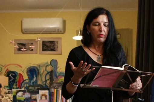 L'autrice Daniela Mencarelli Hoffman