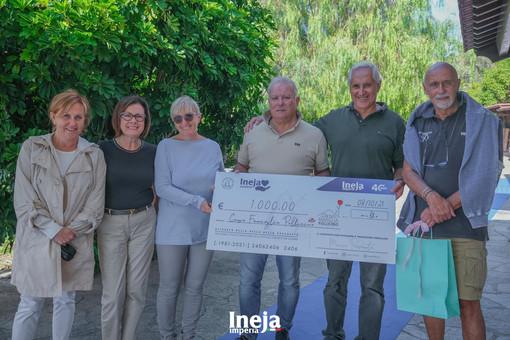 La donazione di Ineja a Casa Famiglia Pollicino