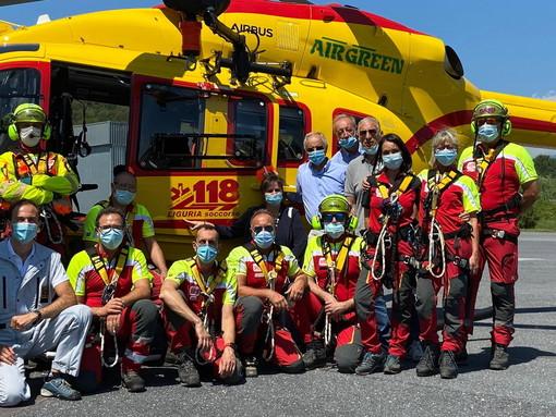 Sanità, in corso a Villanova d'Albenga addestramento squadra 22 tra medici e infermieri 118 Liguria per nuovo servizio elisoccorso