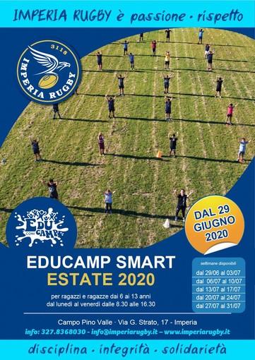 Al Pino Valle di Imperia sono aperte le iscrizioni per l'Educamp Smart – Estate 2020