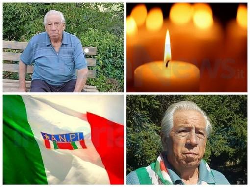Imperia: scompare Francesco Brilla, il commosso ricordo dell'Anpi nelle parole del presidente Ugo Mela (video)