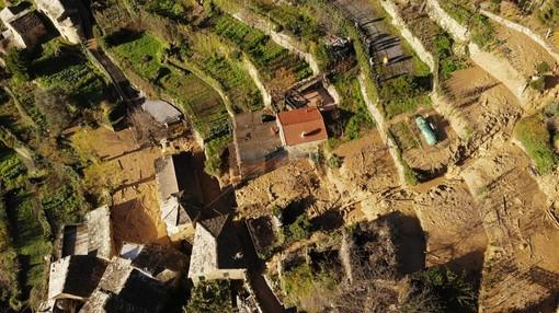 Rezzo: nove sfollati della frazione di Cenova ospitati nella ex caserma Manfredi di Pieve di Teco