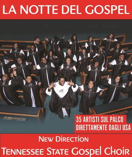 Il New Direction Tennessee State Gospel Choir al teatro Ariston di Sanremo