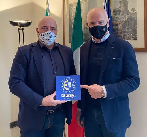 """L'Assessore regionale Berrino incontra presidente euro-toques: """"Nella guida 2021 dieci ristoranti liguri"""""""