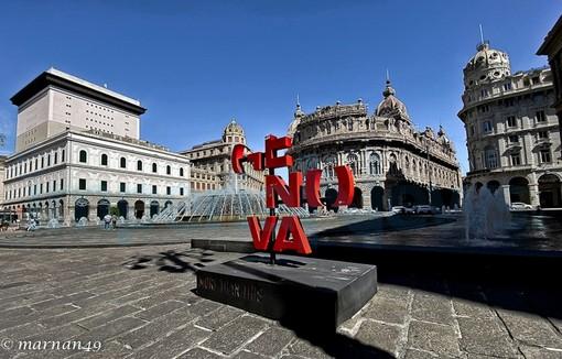 Genova ai tempi del Coronavirus: le immagini scattate dal fotografo di Cervo, Marcello Nan (Foto)
