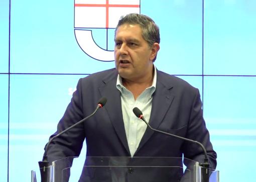 Il presidente della Regione Liguria Giovanni Toti