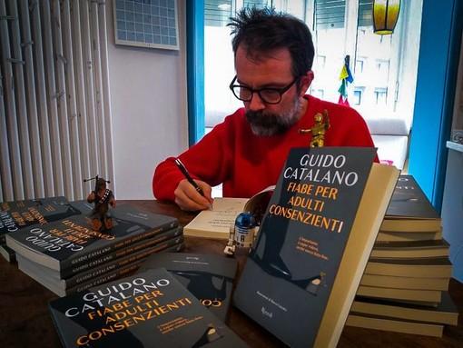 Imperia: domani sera in diretta Facebook alla libreria Mondadori la presentazione del libro di Guido Catalano