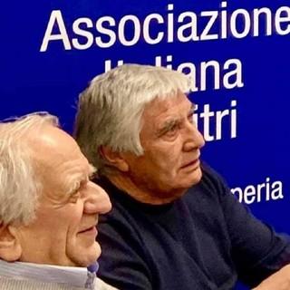 Giovanni Ramella e Ivo Amoretti