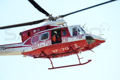 """Diano Marina: 50enne cade da un terrazzo di un condominio sul Berta, portato in elicottero al """"Santa Corona"""""""