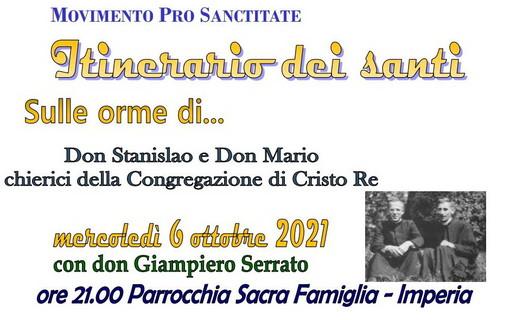 Imperia: tre appuntamenti con il Movimento 'Pro Sanctitate' nel mese di ottobre, uno ad Albenga