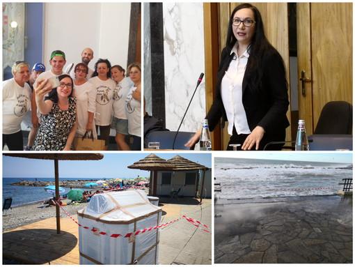 """Imperia: la spiaggia per disabili del Prino approda in Consiglio Comunale, Gandolfo """"È pronta, sarà aperta a giorni"""" (Foto e video)"""